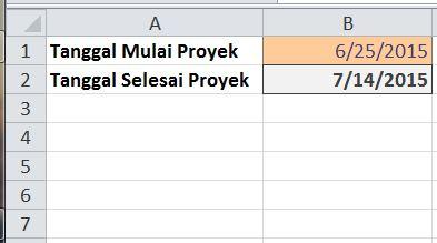 excel formula menggeser tanggal beberapa hari berdasarkan hari kerja