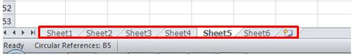 excel formula other worksheet