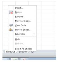 excel formula rename sheet