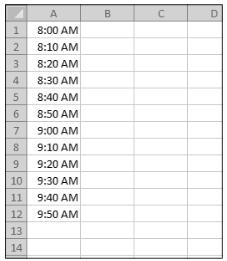 Menambahkan jam, menit, atau detik ke waktu