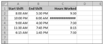 Tutorial Microsoft Excel Menghitung perbedaan antara dua waktu