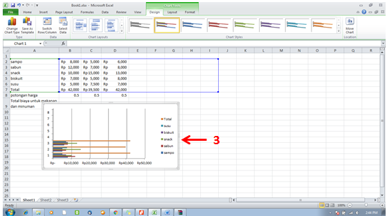 tutorial excel -move chart1
