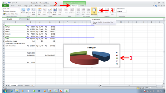 tutorial ms excel-manipulasi 3D