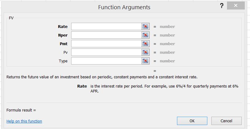 Konsep Fungsi Finansial di Microsoft Excel