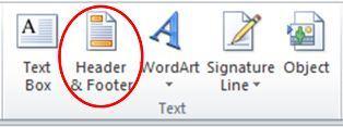 Menambahkan Header dan Footer di Ms Excel0