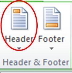 Menambahkan Header dan Footer di Ms Excel00