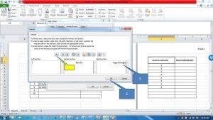 Menambahkan Header dan Footer di Ms Excel