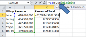 Menghitung Percent Distribution