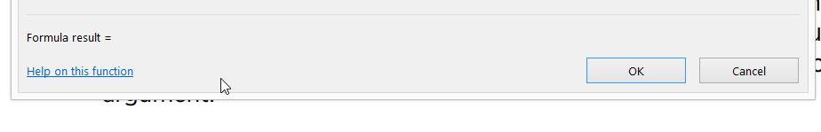 Gambar 5. Mencari fungsi-fungi terkait kata kunci 'Loan' melalui Function Dialog Box. Anda juga dapat memilih agar fungsi yang ditampilkan hanya dari kategori tertentu saja.  Setelah menekan tombol OK, berikutnya akan tampil daftar argument yang harus dimasukan. Lihat Gambar 6. Selain keterangan fungsi tersebut, tampil juga penjelasan dari setiap argumentnya, sehingga bagi orang yang pertama kali menggunakan fungsi tersebut akan sangat membantu.  Untuk keterangan fungsi tersebut lebih detil dan melihat contoh, anda dapat masuk ke Help on this function.