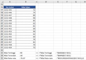Bekerja dengan Teks di Ms Excel