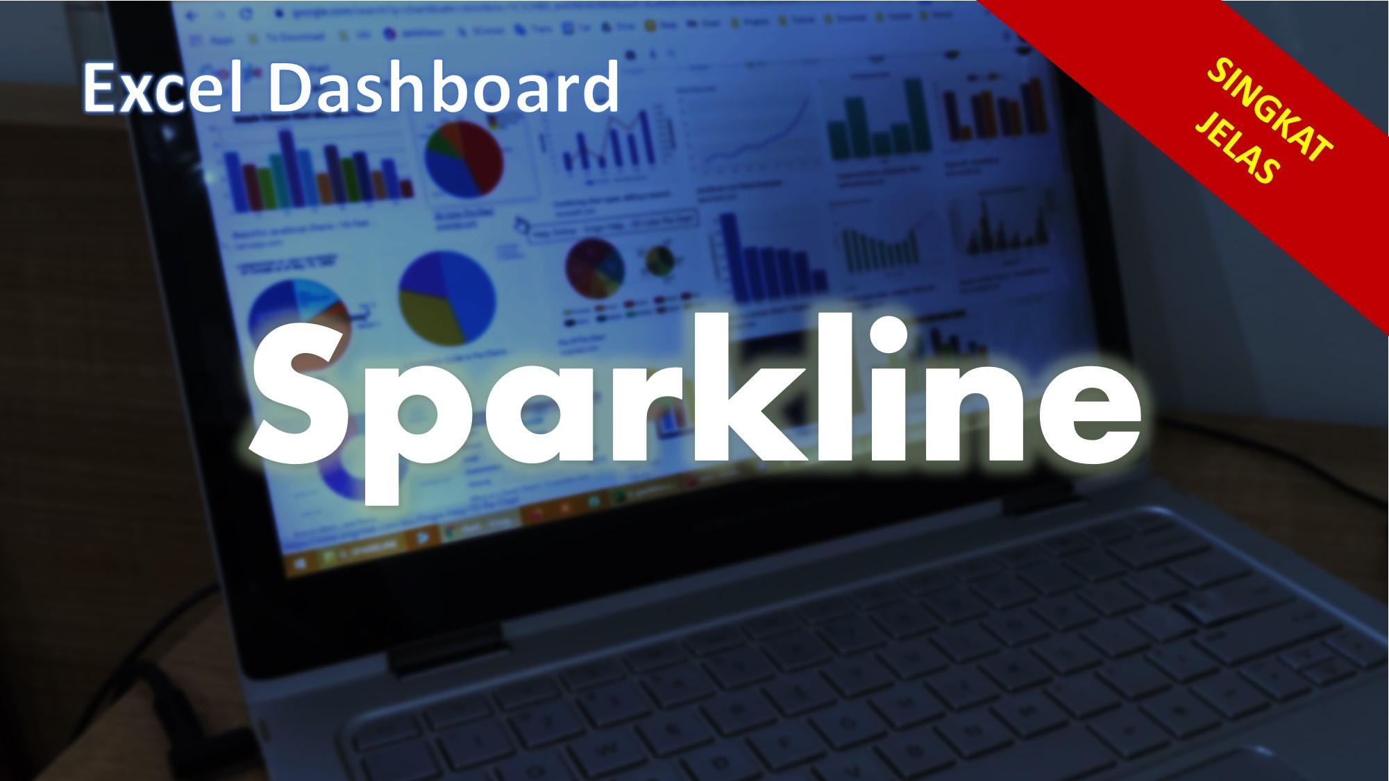 Membuat Sparkline untuk Dashboard