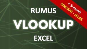Tutorial Rumus VLOOKUP Excel